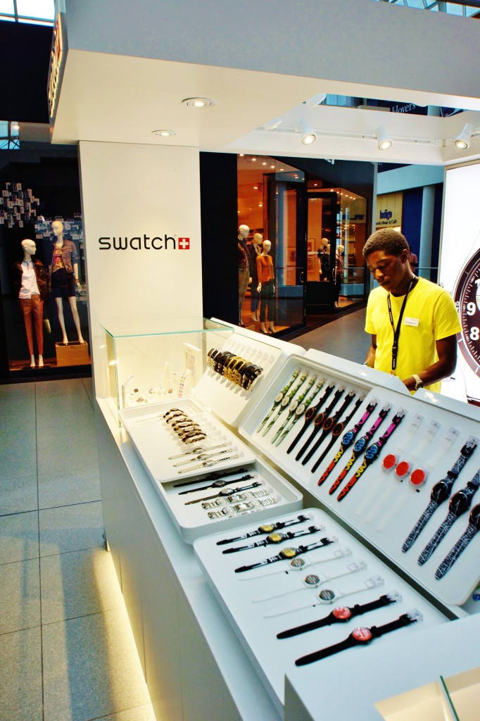 Swatch Customer Watch Display