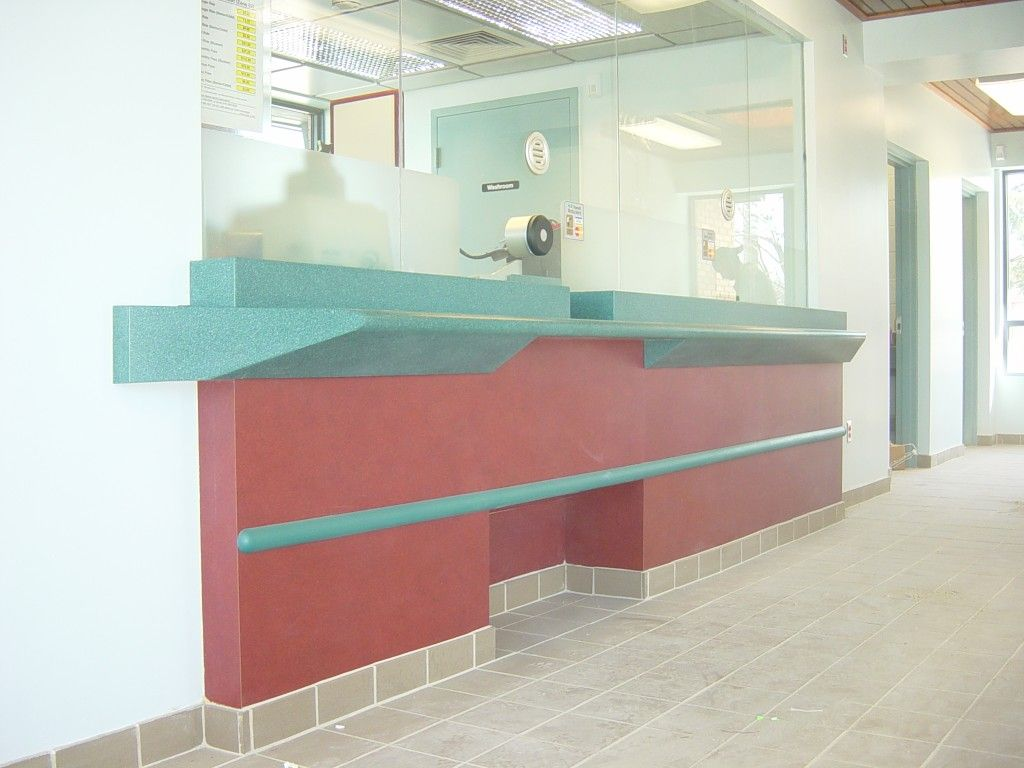Go Transit front counter