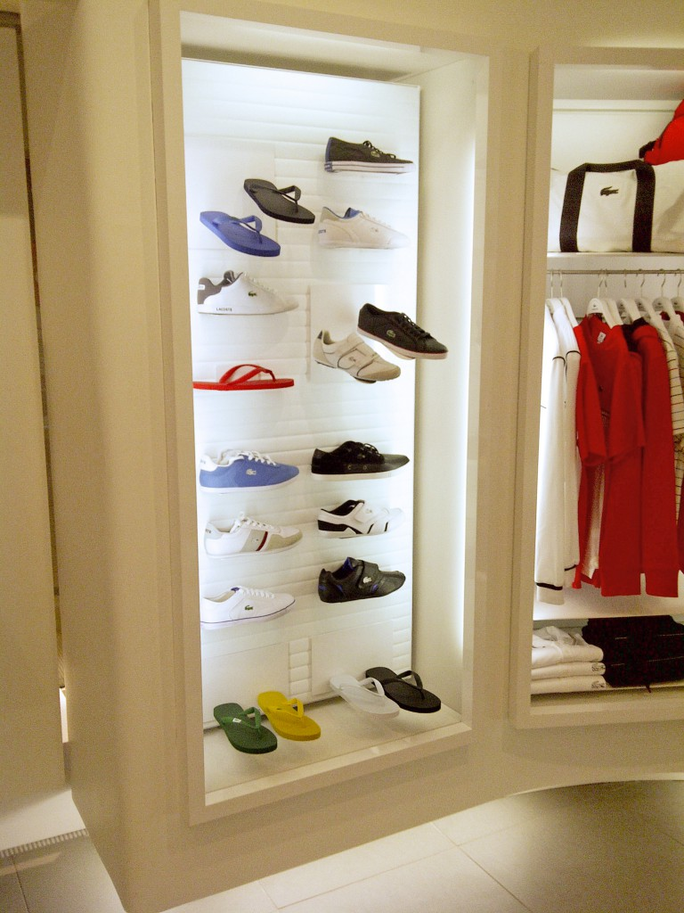 Shoe Display and T-Shirt Rack